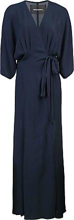Reformation Vestido Winslow - Azul