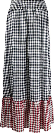 Liu Jo gingham maxi skirt - Blue