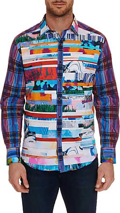 Robert Graham Mens Limited Edition Breaking Lands Sport Shirt Size: 2XL by Robert Graham