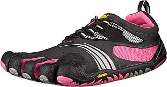 Vibram Fivefingers Womens KMD Sport Ls Fitness Shoes, Black (Black/Pink), 8 UK 42 EU