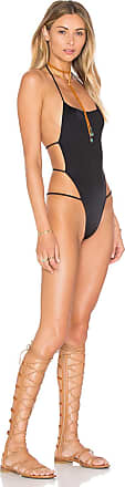 Indah Dusty Strappy One Piece in Black