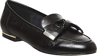 Office Flannery Bow Loafer Black Leather - 6 UK