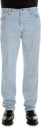 Wrangler Mens Cowboy Cut Slim Fit Jean, Bleach, 42x32
