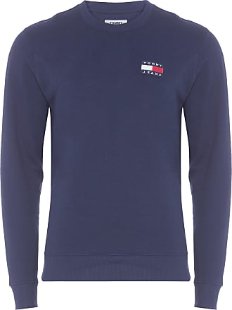 Tommy Jeans SUÉTER MASCULINO BADGE CREW - AZUL