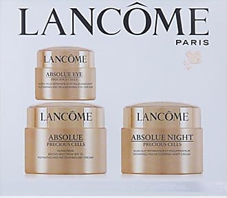 Lancôme Absolue Precious Cells Repairing And Recovering Day-Night & Eyes Ritual by Lancome for Unisex - 3 Pc Kit 1.7oz Day Cream Sunscreen Broad Spectrum SPF 15, 1.7oz Night Cream, 0.7oz Eye Cream