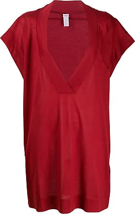 Eres Klassisches T-Shirtkleid - Rot