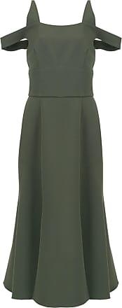 OLYMPIAH Vestido midi Sol - Verde