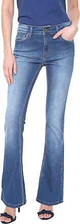 Zoomp Calça Jeans Zoomp Flare Jamile Azul