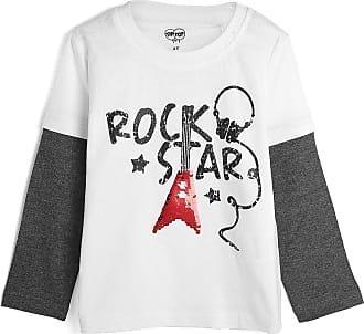 Tip Top Camiseta Tip Top Infantil Banda De Rock Branca