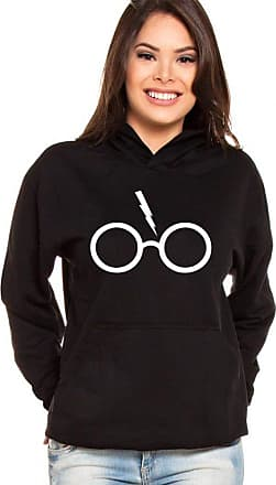 PartiuCompras Moletom Canguru Feminino Harry Potter Glass ER_131
