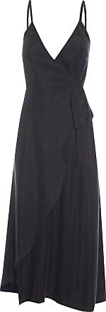 Market 33 Vestido Transpassado -preto