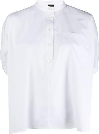 Aspesi Blusa mangas balão - Branco