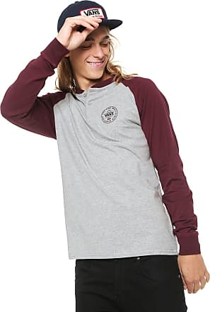 Vans Camiseta Vans Denton Cinza/Vinho
