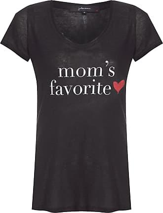 J. Chermann Camiseta Moms Favorite Especial - Preto