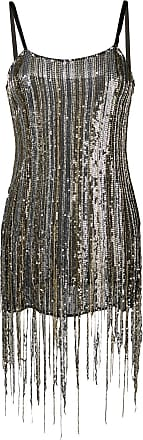 Amen sequinned mini dress - Prateado