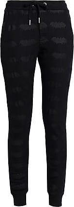 Zoe Karssen Zoe Karssen Woman Printed Cotton-blend Track Pants Black Size S