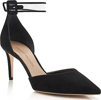 Tamara Mellon Valletta Black Suede Pumps, Size - 35.5