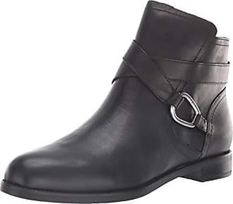 b85d7704af Ralph Lauren Lauren Ralph Lauren Womens Hermione Ankle Boot, Black, 8.5 B US