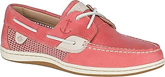 Sperry Top-Sider Womens Koifish Mesh Boat Shoe, Nantucket red, 055 M US