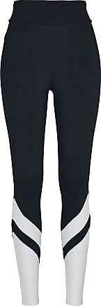 Urban Classics Ladies Arrow High Waist Leggings - Leggings - schwarz, weiß