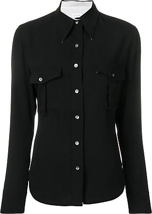 Calvin Klein police pocket shirt - Black