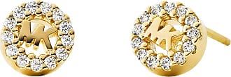 Michael Kors MKC1033AN710 MK Logo Stud Gold