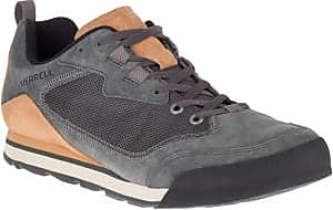 Merrell Mens Burnt Rock Travel Suede Shoes