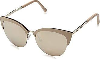 029a44a50a0ca Steve Madden Womens Sm894101 Round Sunglasses Nude 61 mm