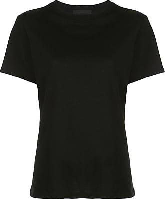 Wardrobe.NYC Camiseta modelagem solta de algodão - Preto