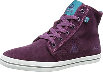 2d7bd958ef36 Le Coq Sportif Womens Voya Mid Hi-Top Slippers Purple Violett (Shadow  Purple)