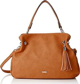 69b55a3031 Tamaris Gweny Shoulder Bag, Sacs portés épaule femme, Marron (Cognac),  13x26x30