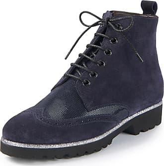 Blauer Herren Sneaker High MURRAY 02 Leder Weiß, Schuhgröße