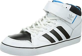 premium selection 89c48 c52ce adidas Womens Varial Mid Trainers, WhiteBlackSolarBlue, 9 UK