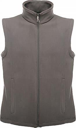 Regatta Mens Micro Fleece Bodywarmer/Gilet (3XL) (Seal Grey)