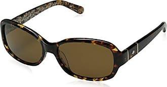 kate spade new york Women/'s Akira Polarized Rectangular Sunglasses Black