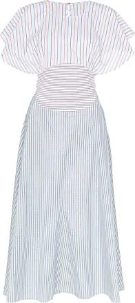 Rosie Assoulin Vestido listrado - Azul