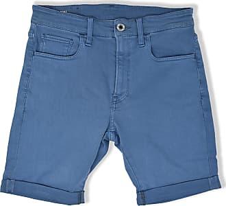 G-Star 3301 Slim Denim Shorts Delft - 34