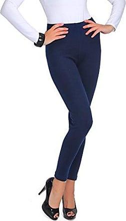 Bodenlang Royal Blau Premium Baumwollleggings Dehnbar Gym-Hosen Größen 8-22