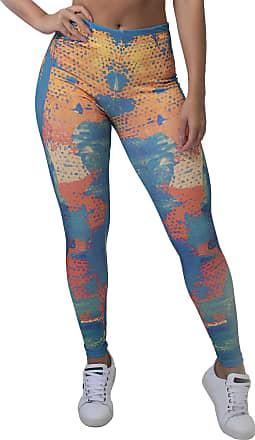 Kaisan Calça Feminina Legging Colorful Scale