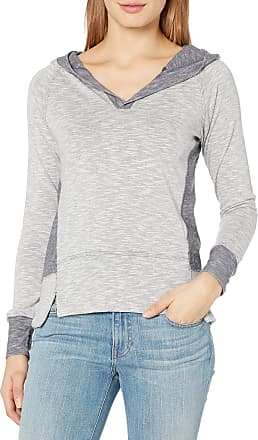 Jockey Womens Reflect Hoodie Hooded Sweatshirt, Dirty Denim, Small