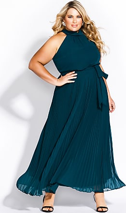 f27b60269d City Chic Honour Maxi Dress - Emerald in Green - Size 14 / XS by City