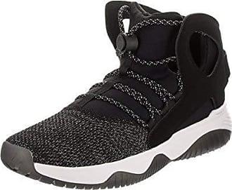save off 19736 951ba Nike Herren Luft Flight Huarache Ultra schwarz schwarz weiß  Volt Basketball  Schuhe 9.5