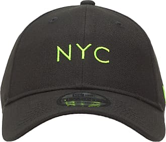 New Era BONÉ MASCULINO 920 SIMPLE FLUOR YEL NYC - PRETO