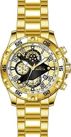Invicta S1 Rally Chronograph Gold Dial Mens Watch 26098