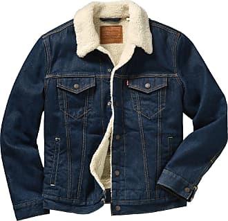 Levi's Herren Sherpa Trucker Jacket blau L, M, S, XL, XXL