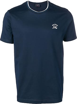 Paul & Shark Camiseta com estampa de logo - Azul