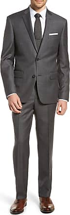 Nordstrom Trim Fit Sharkskin Wool Suit