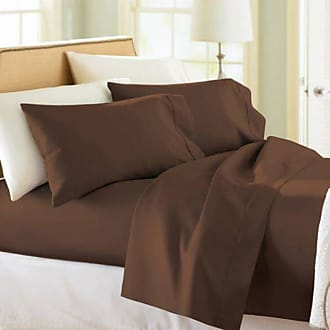 Better Homes & Gardens 300 Thread Count Wrinkle Free Sheet Set by Better Homes & Gardens Rich Brown, Size: Full - ACB69A374DAB46EE8A18FAEDDCAE1C4B