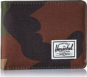 Herschel Mens Roy RFID Wallet, Woodland Camo, One Size