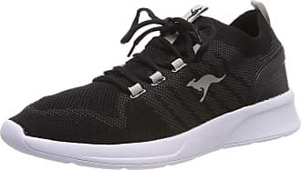 Kangaroos Unisex Adults KangaFOAM Sock Sneaker, Schwarz Jet Black Vapor Grey 5007, 9.5 UK